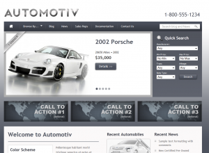 Car Dealership Wordpress Website Theme